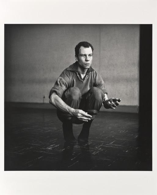 Robert Rauschenberg, 'Merce', 1953-printed 1981, Photography, Gelatin silver print, San Francisco Museum of Modern Art (SFMOMA)