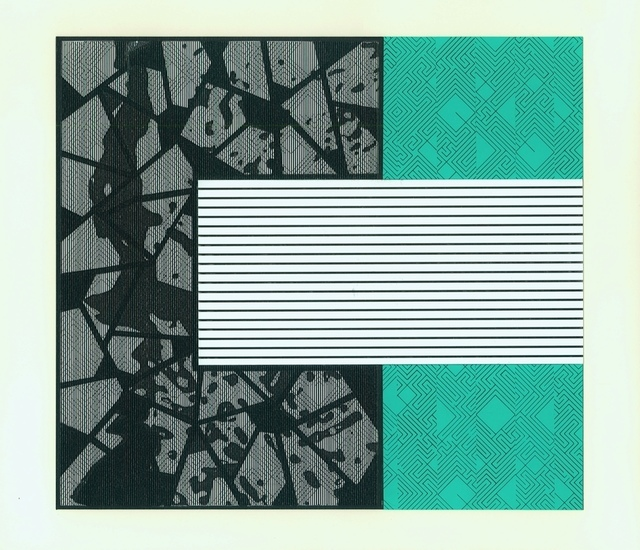 , 'Untitled: Aqua and Black,' ca. 2013, Adah Rose Gallery
