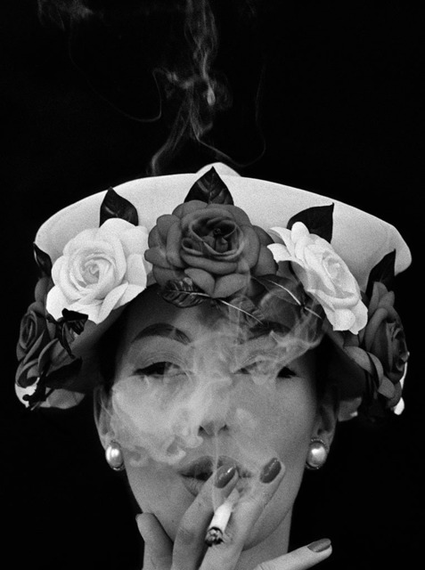 , 'Hat + Five Roses, Paris (Vogue),' 1956, Grob Gallery
