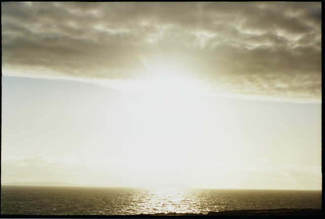, 'No title (Sun in sea),' 2013-2015, Robert Morat