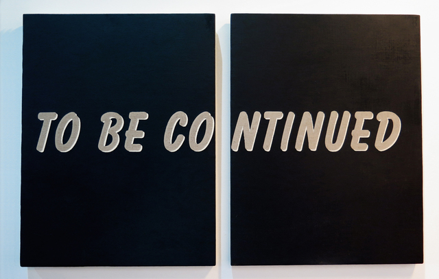 , 'To be continued,' 2015, Resource Art