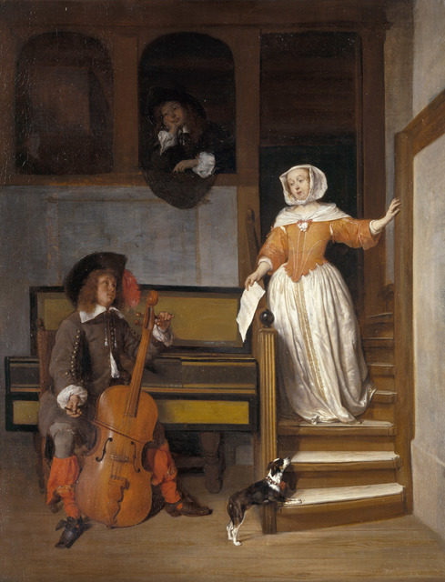 , 'The Cello Player,' 1658, Royal Collection Trust