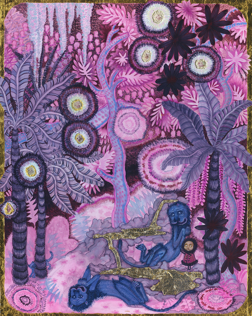 , 'Pink Selva with Blue Lions and Yapa Sparks,,' 2016, Monya Rowe Gallery
