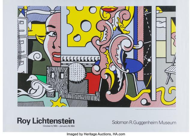 Roy Lichtenstein, 'Go For Baroque Guggenheim Museum Exhibition Poster', 1993, Heritage Auctions