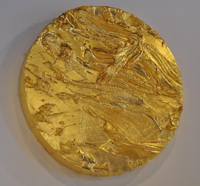 , 'Gold TondoNº2,' 2013, Galeria Mário Sequeira