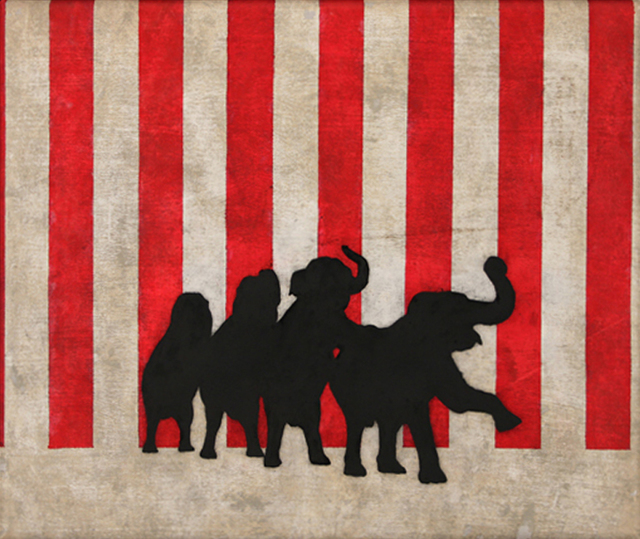 , 'Circus,' ca. 2014, Chase Young Gallery