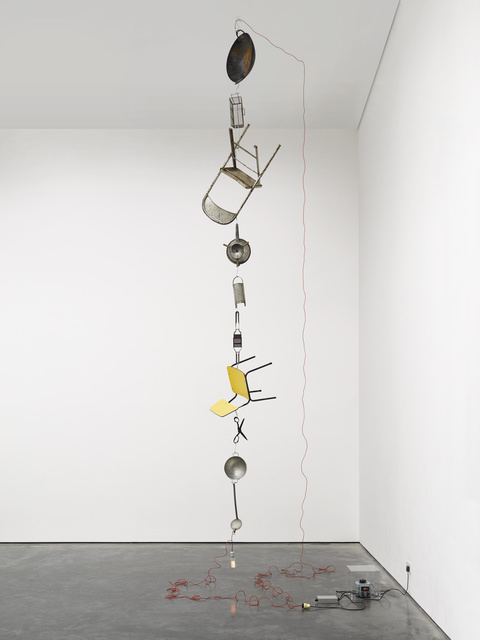 , 'Electrified (variable II),' 2014, White Cube