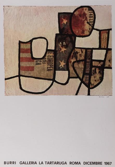 Alberto Burri, 'Burri', 1967, Posters, Poster, Finarte