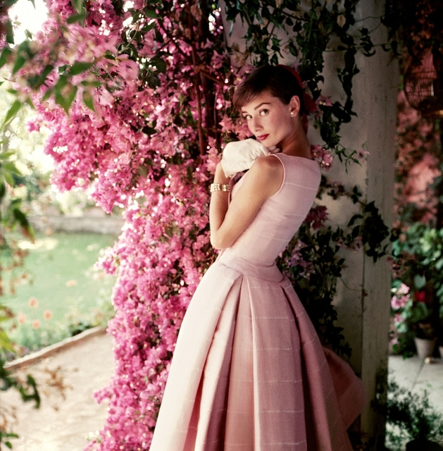 , 'Audrey Hepburn photographed wearing Givenchy,' 1955, National Portrait Gallery