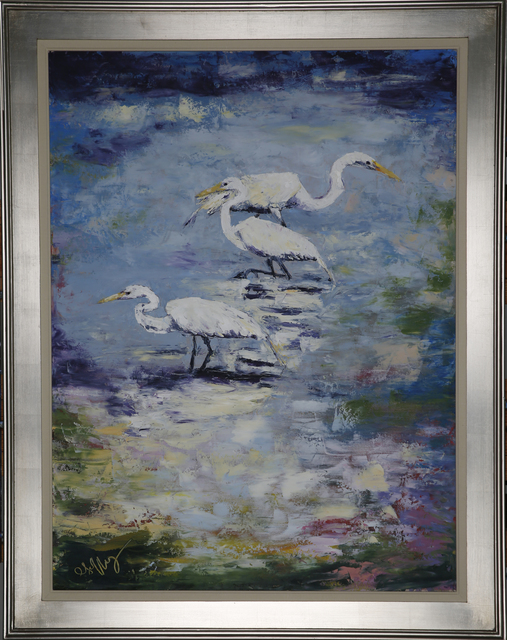 , 'The Waders,' 2018, Geoffrey C. Smith Galleries