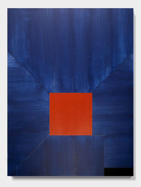 , 'BLUE Lean on and Against no. 40,' 2016, Paradigm Gallery + Studio