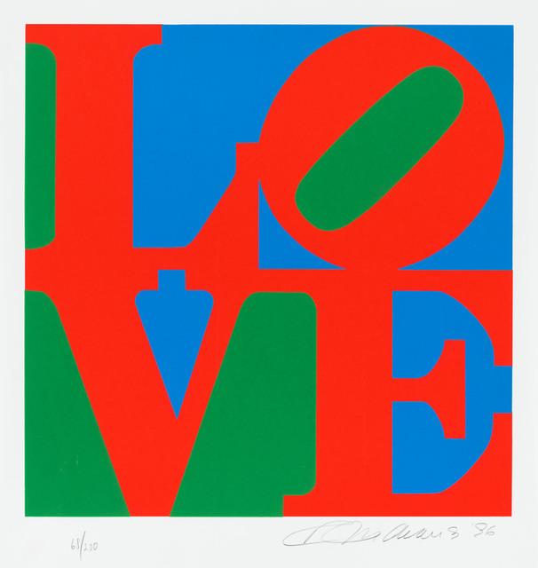 Robert Indiana, 'Love', 1996, Christopher-Clark Fine Art