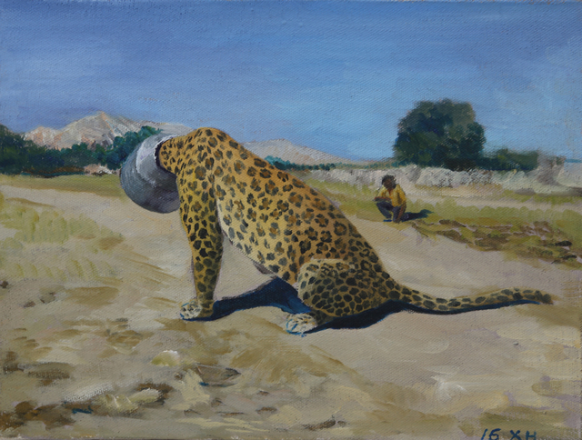 , 'Testament of Horse Abdomen - A Leopard in The Desperate Situtation,' 2016, Leo Gallery