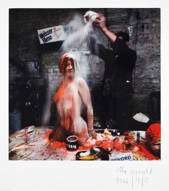 , 'Materialaktion 1964 - 67,' 1964, Galerie Krinzinger