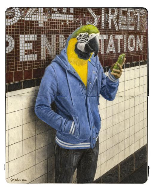 , 'Waiting for the 1 Train,' 2017, Spoke Art