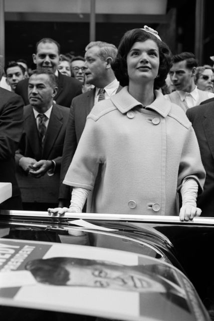 , 'Jaqueline Kennedy Campaigning on Broadway,' 1960, KP Projects