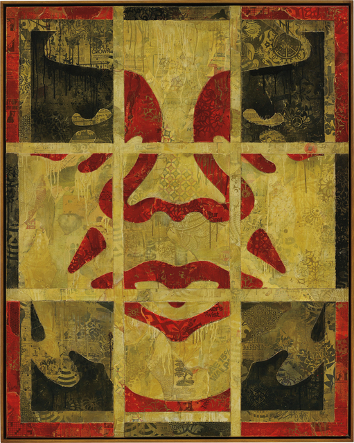 Shepard Fairey (OBEY), 'Repetition Works Icon', 2011, Phillips