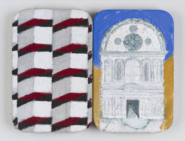 , 'The Stones of Venice Santa Maria dei Miracoli Diptych,' 2015, Marlborough London