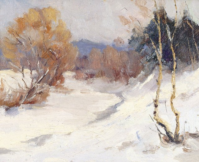 Nikolay Mikhaylovich Romadin, 'Winter', 1964, Surikov Foundation