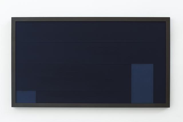 , 'Sintropic Maze - series I (Corner 5) - Blue,' 2016, Zipper Galeria