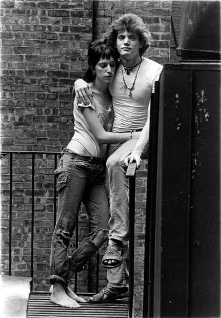 , 'Patti Smith & Robert Mapplethorpe in a moment of reverie,' 1971, Gagosian
