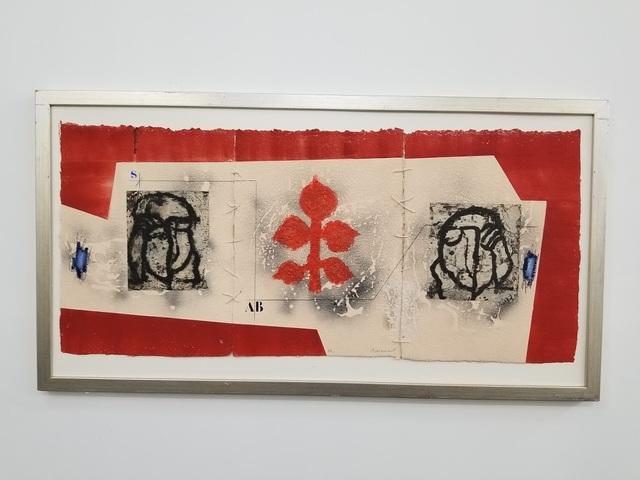 """James Coignard, '""""Plan Extérieur # 1124 A book V Triptique cousu""""', Tranter-Sinni Gallery"""