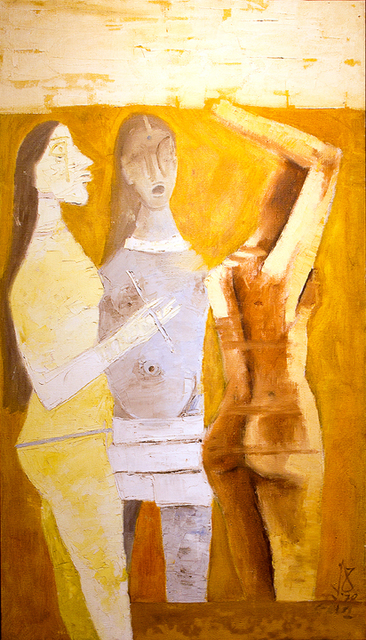 , 'Women in Yellow,' 1970, Aicon Gallery