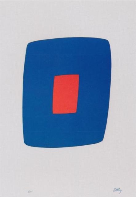 , 'Dark Blue with Red,' 1964-1965, Lyndsey Ingram Ltd.