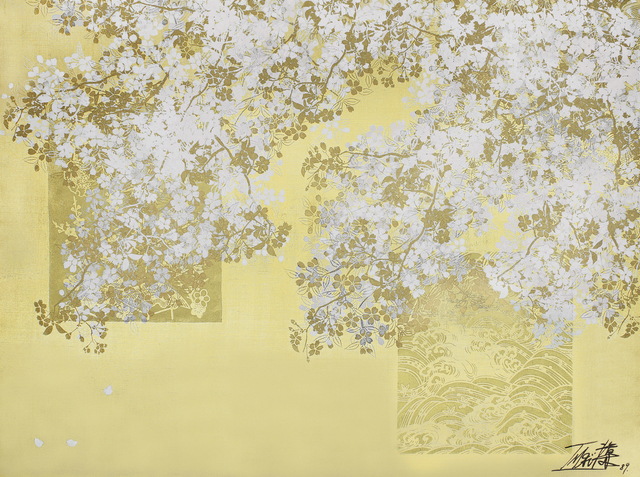 , 'Sakura-zu (Cherry Blossoms),' 1989, Maekawa + Takemura