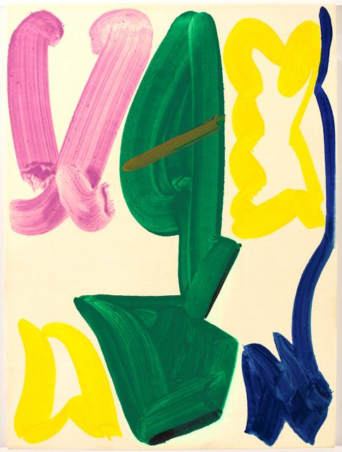 , 'Green Shape,' 2014, wallspace_1