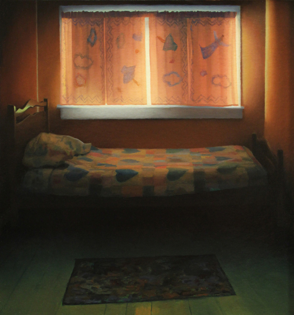 Scott Prior, 'Bedroom', 2006, Painting, Oil on panel, Somerville Manning Gallery