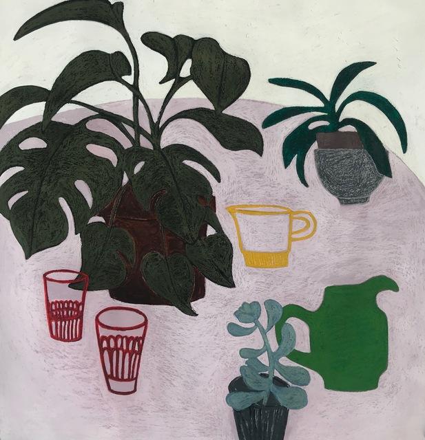 Angela A'Court, 'Plant Table', 2019, Susan Eley Fine Art