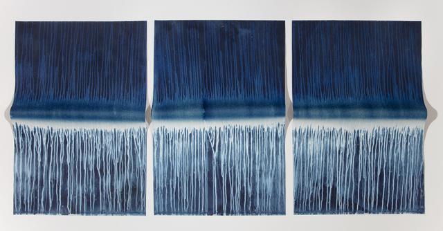 Meghann Riepenhoff, 'Ecotone #527 (Bainbridge Island, WA 10.18-19.18, Heavy Rain)', 2018, Jackson Fine Art