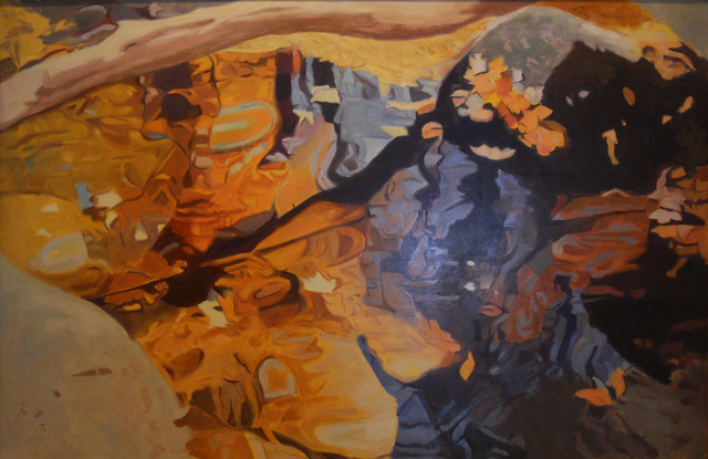 Ralph Wickiser, 'Limb Over the Water', 1984, Painting, Oil on linen, Walter Wickiser Gallery