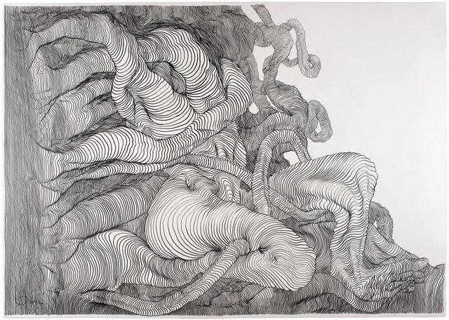, 'Graphite 7,' 2012, Hans Alf Gallery