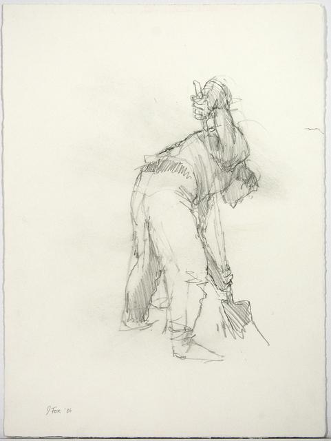 John Fox, 'Study for Digger', 1986, Oeno Gallery