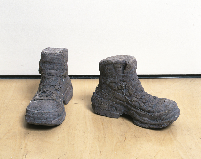 , 'Concrete Boots,' 2005, New Museum