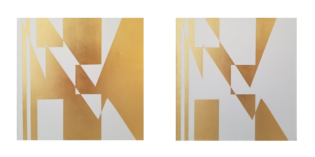 José Ángel Vincench, 'Revolution with plebiscite. Diptych ', 2019, NG Art Gallery