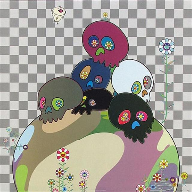 Takashi Murakami, 'Skull Rock', 2004, Hang-Up Gallery