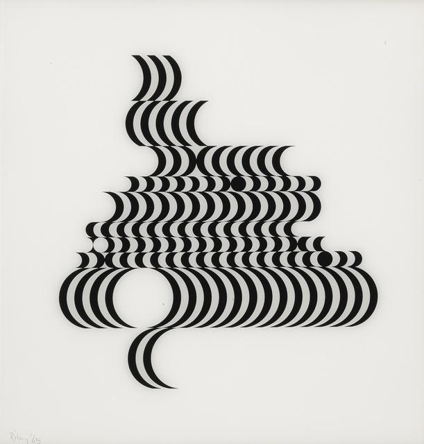 Bridget Riley, 'Untitled (Fragment 2) (Schubert 5B)', 1965, Sotheby's