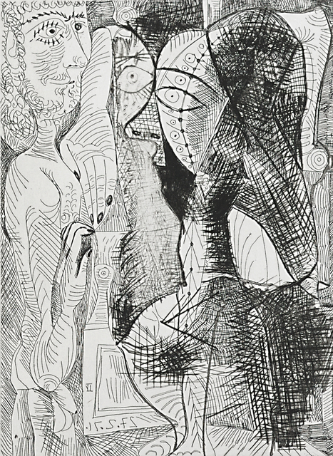 Pablo Picasso, 'Untitled, plate 61 from Series 156', Rago/Wright