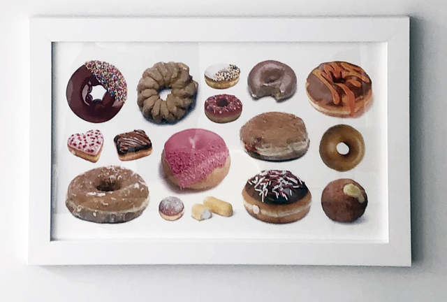 Jeff Gibson, 'Untitled (Donuts)', 2017, LMAKgallery