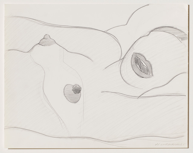, 'Drawing for Great American Nude,' 1965, Gagosian