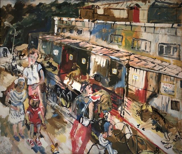 Jemal Kukhalashvili, 'In the Zoo', 1990, Chardin Art Gallery