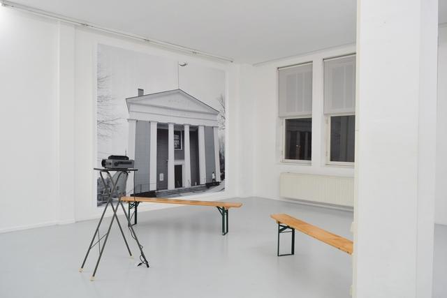 , 'The chair remains empty / But the place is set – Meeting Hall, Cape Cod,' 2016, Ellen de Bruijne Projects