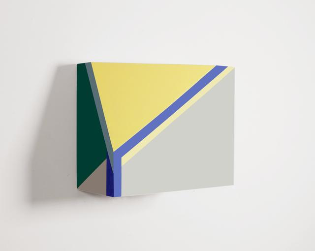 , 'Origami 1, #30,' 2014, River