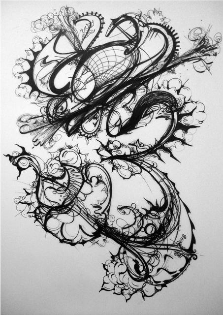 , 'Drawing 14,' 2007, Elisa Contemporary