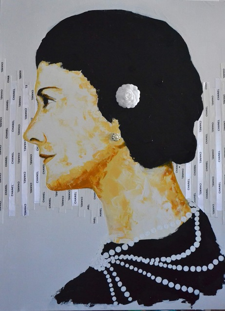 , 'Gabrielle (Coco) Chanel,' 2019, B Lounge Art