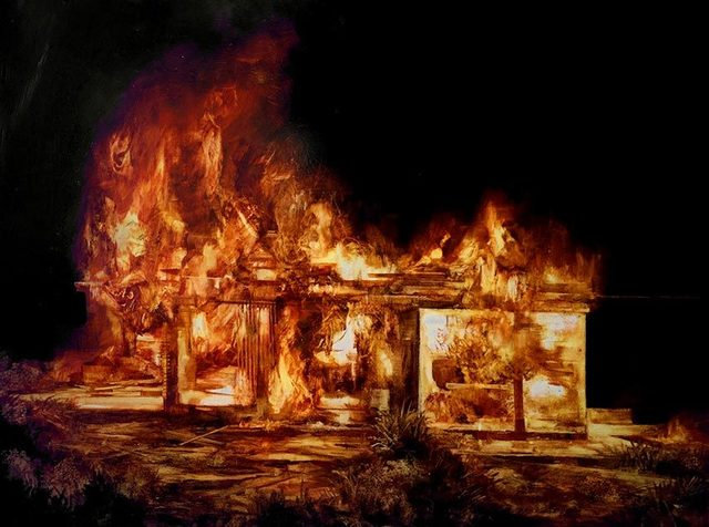 , 'Burning House (study 4) ,' , OLSEN GALLERY