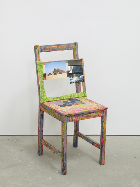 Hayley Tompkins, 'Self Portrait as a Chair', 2018, Studio Voltaire